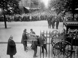 Parijs, september 1918. De begrafenis van Louis Darragon.
